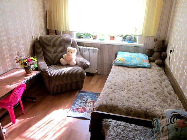Уютная комната за 750 рублей - Samara - Leilighet