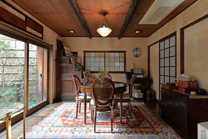 Sunny Traditional  Japanese House next to Shibuya - Meguro-ku - Huis
