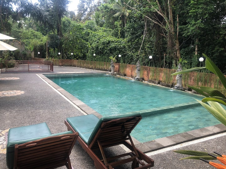 Cottage with swiming pool