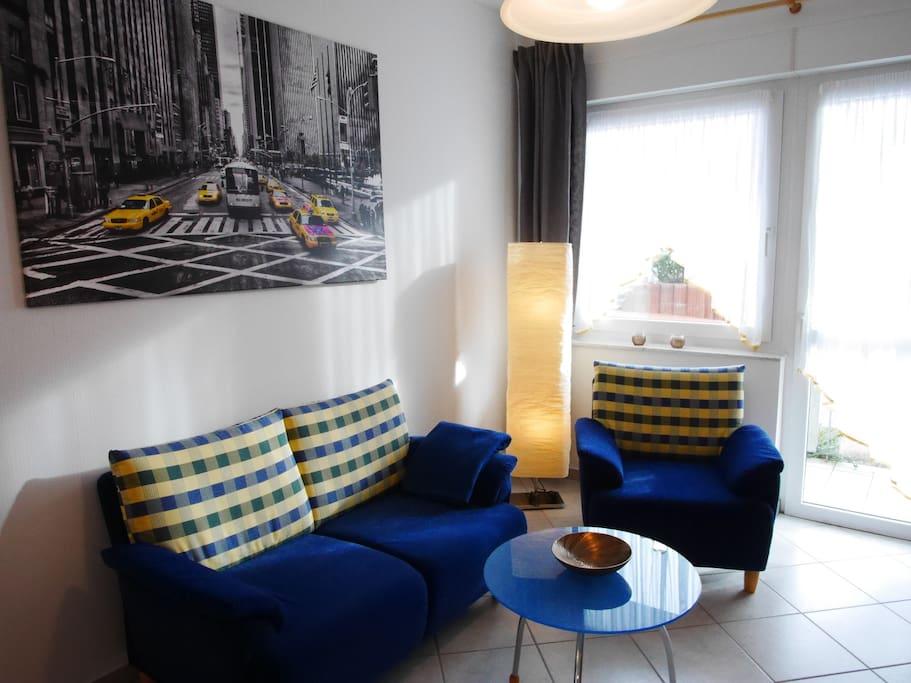 Wohnzimmer/ Fernsehecke