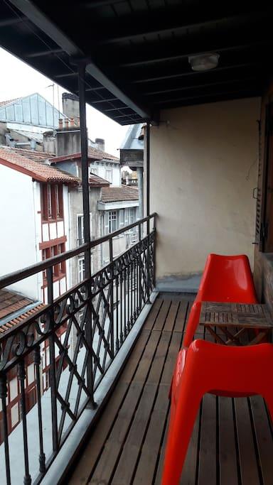 Terrasse abritée
