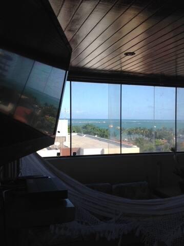 Vista da sala