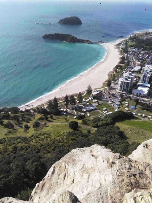 Climb the iconic mount maunganui