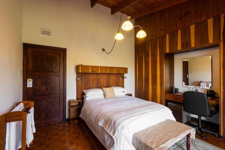 Gold Room - Dresser and bed