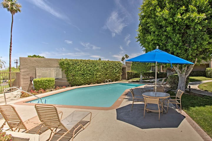 NEW! Palm Desert Studio in Golf & Tennis Resort!