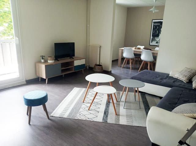 Spacious appartment in St Brieuc