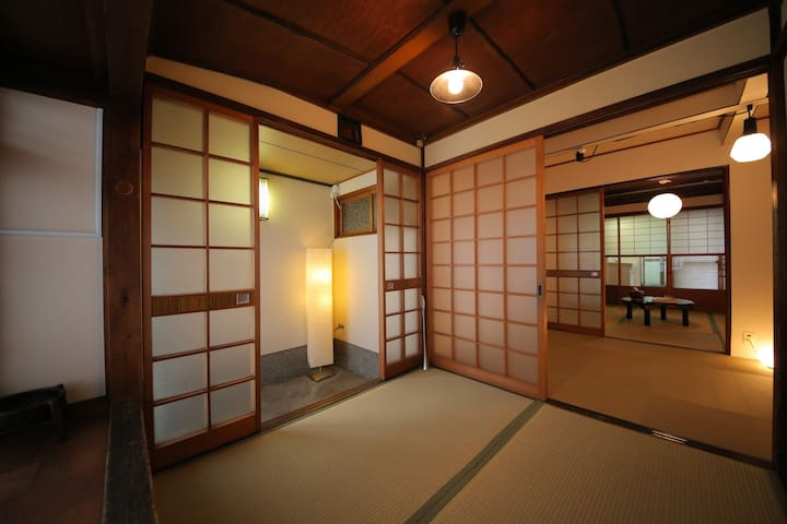 Central Kyoto Historic KYOMACHIYA7 - Kyoto - Rumah