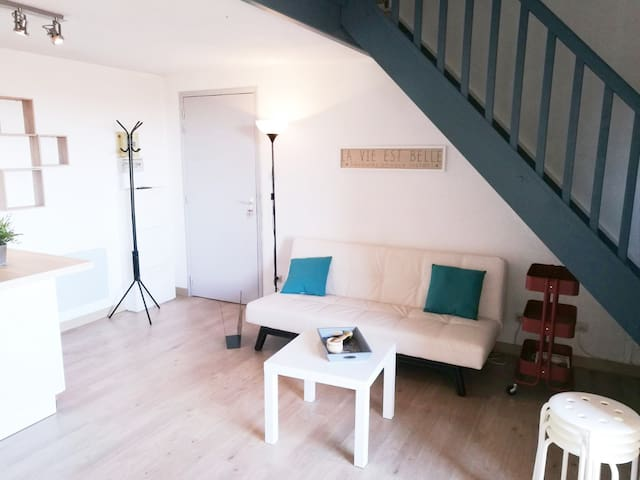 beautiful & cosy flat, only 5min. walk from beach - Valras-Plage - อพาร์ทเมนท์