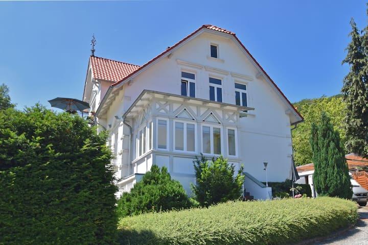 Moderne Ferienwohnung in Blankenburg mit Terrasse
