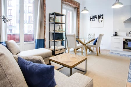 Brand-new 1BD with 3 balconies - SOL, CITY CENTER - Madrid - Appartement