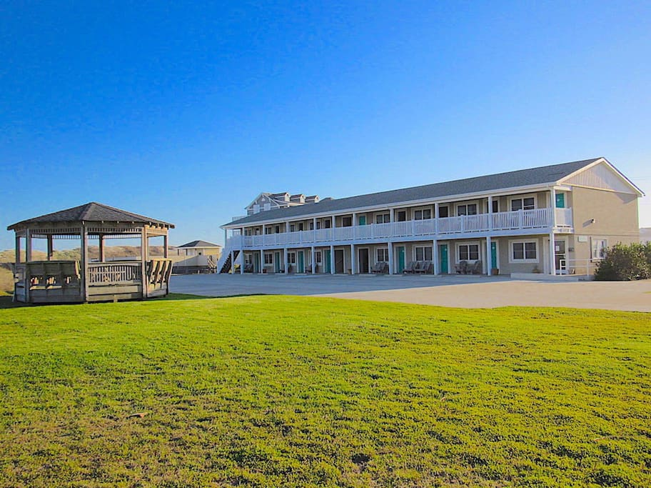 Sea Gull Motel Hatteras Located at MP 70.5