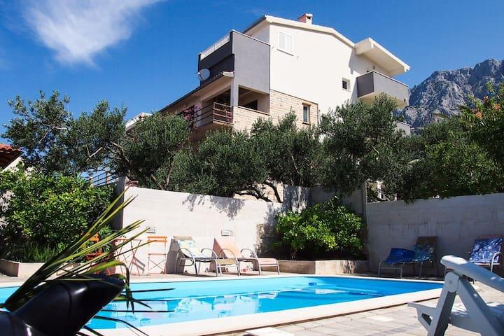 Villa Vele for 3p with pool - Macarsca - Villa
