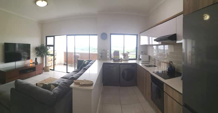 Central Ballito Apartment with Sea View