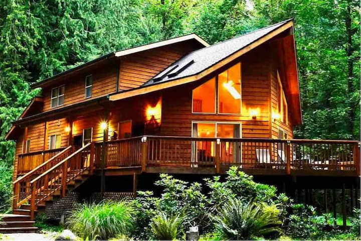 Salmon River Chalet- Mt Hood, OR