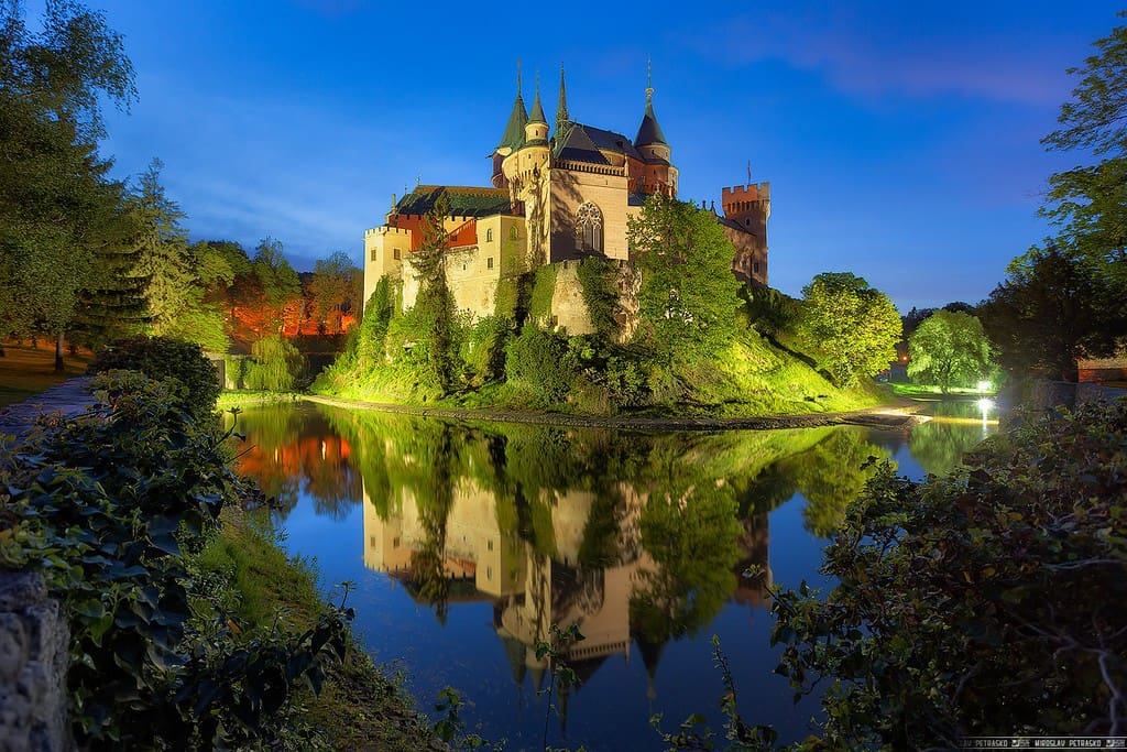 Bojnice castle - beautiful - isn't it?