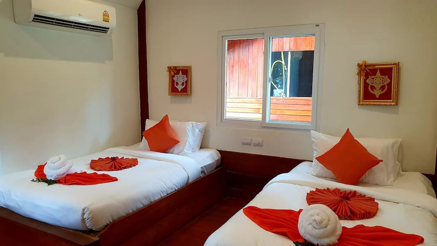 Koh Jum Delight Beach Standard AirConditioned Room