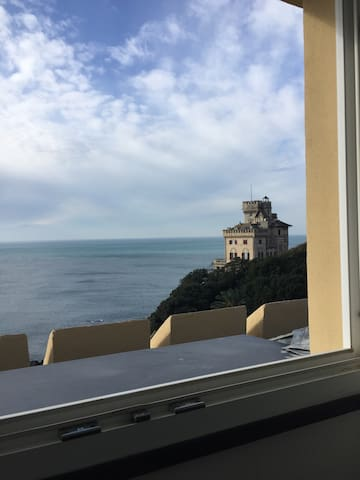 Accogliente mansarda vista mare - Gênova - Casa