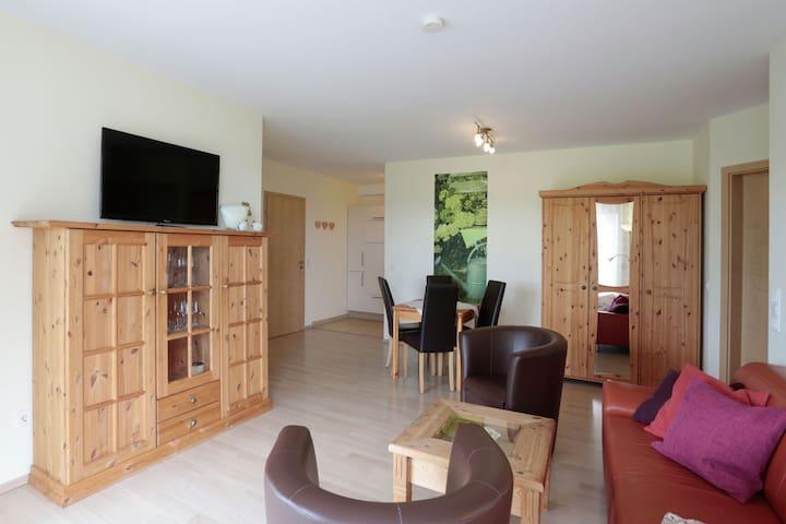 Comfortale appartement tussen Willingen en Winterberg met eigen terras