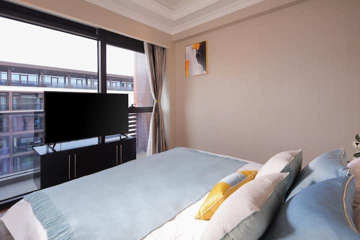 西溪湿地公园东门新城市酒店公寓(西溪店)精选阳台房