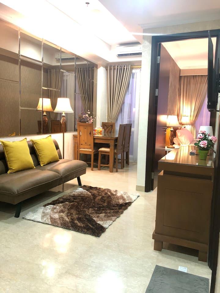 Luxury,2BR,Menteng Park Apart,36thFloor theHighest