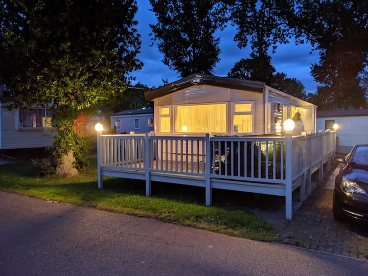 4 berth static home at Carlton Meres holiday park