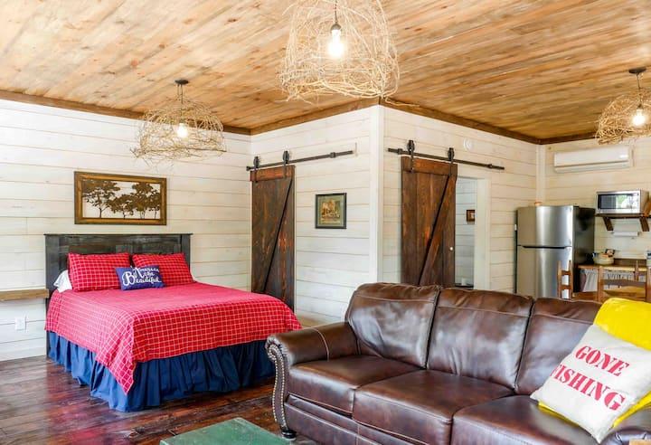 Cozy country farm style studio