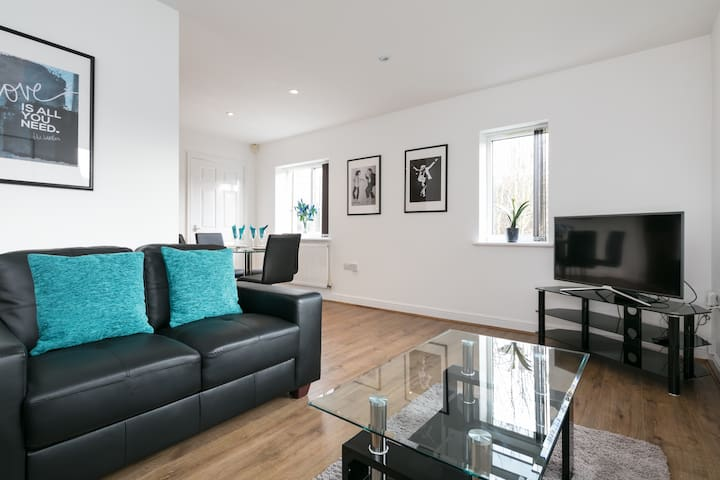 Luxury Garden Apartment in Didsbury - Manchester - Pis