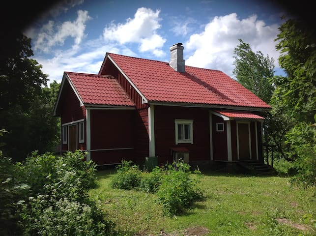 Log cabin from early 1900s - Loviisa - Blockhütte