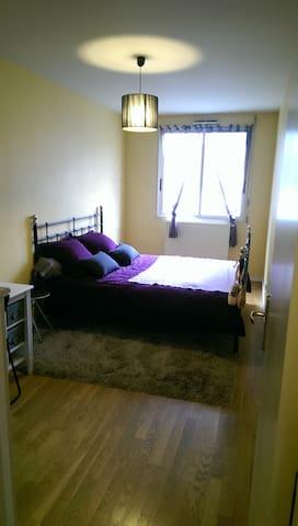 Chambre spacieuse / F3 78m2 / quartier Monplaisir - Lyon - Apartamento