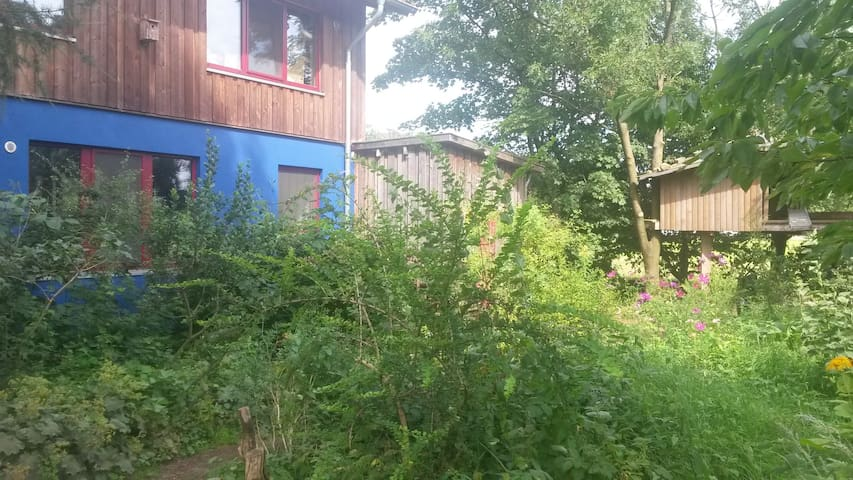 Cosy, ground level apt. out in the open near HH - Ahrensburg - Appartement