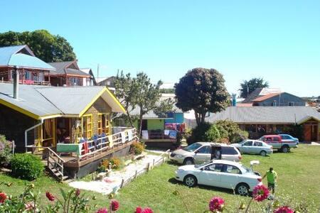 Hermosa cabaña frente al mar - Puerto Montt