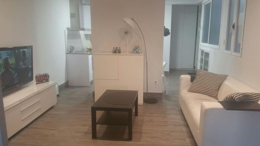Luminoso alto céntrico 3hab/terraza - Donostia - Condominium