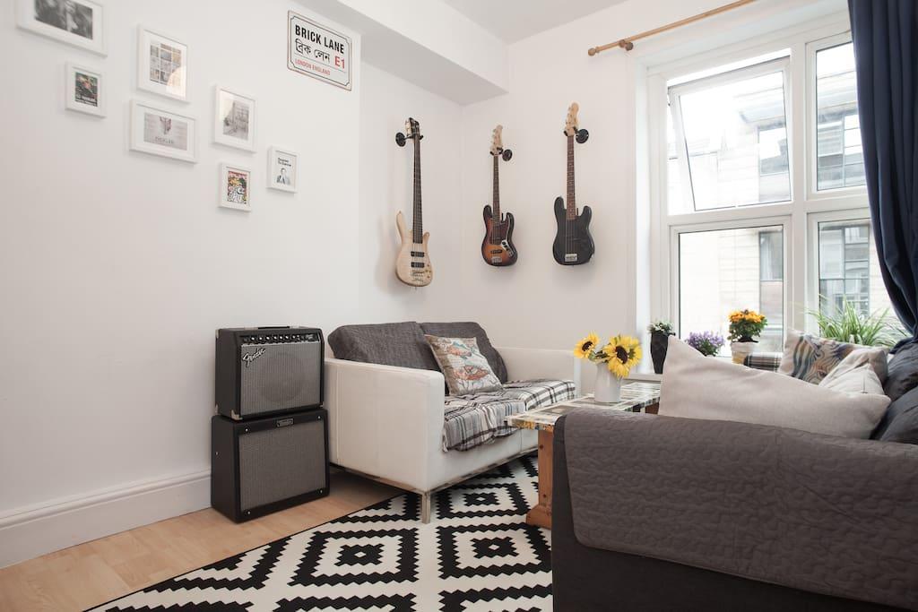 Brick lane zone 1 artistic apartment in shoreditch apartamentos en alquiler en londres - Alquilar apartamento en londres ...