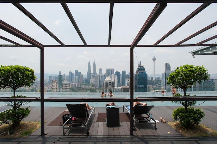 KL city+free wifi ホームステイ - Kuala Lumpur - Apartemen