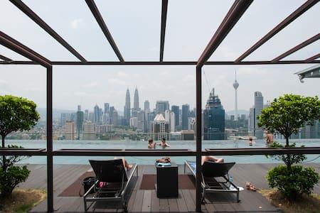 KL city+free wifi ホームステイ - 吉隆坡 - 公寓