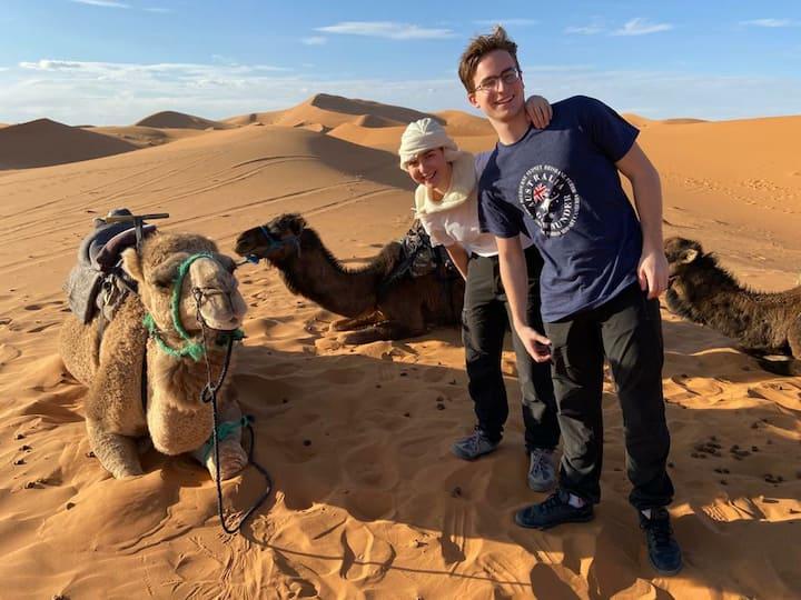 Sahara Berber Camp 🐪