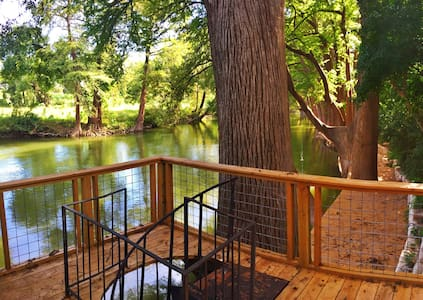 Nora's Porch, on the Guadalupe River  MONTHLY ONLY