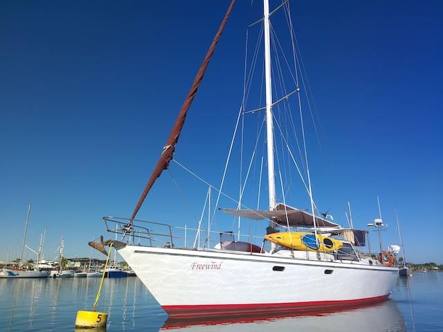 Freewind Floating Home in Port Denarau Fiji