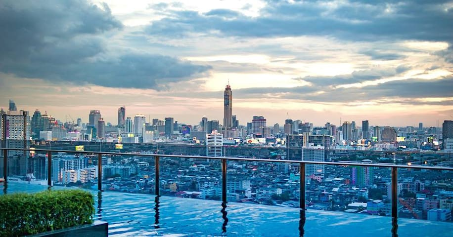 Modern luxury room in the heart of Bangkok - Bangkok - Daire