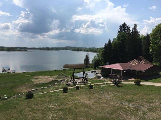 The room with the lake view - Ruska Wieś-Osada - Apartament