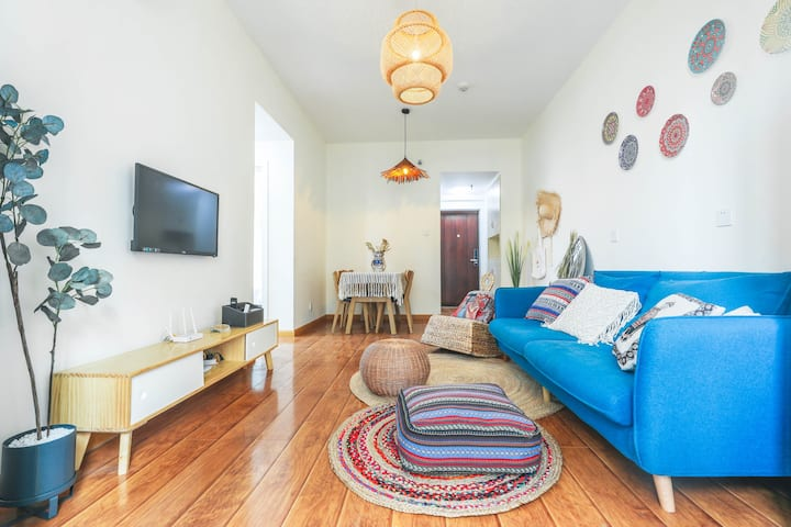 波西米亚两居室/欢乐美寓/大小河街