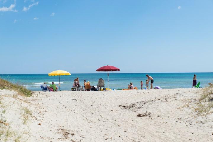 Home&garden, Wifi,beach, BBQ, Bike, Lecce 15'bycar