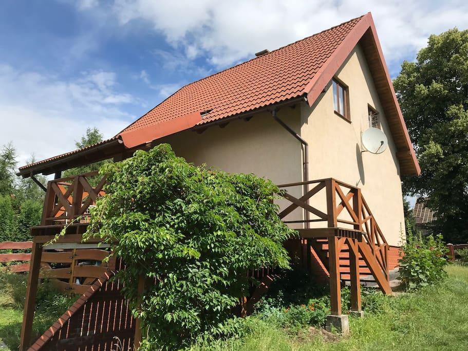 Nasz dom Hermanówka w Kosewie poleca się na urlop /Our Hermanowka house is a good option for holidays
