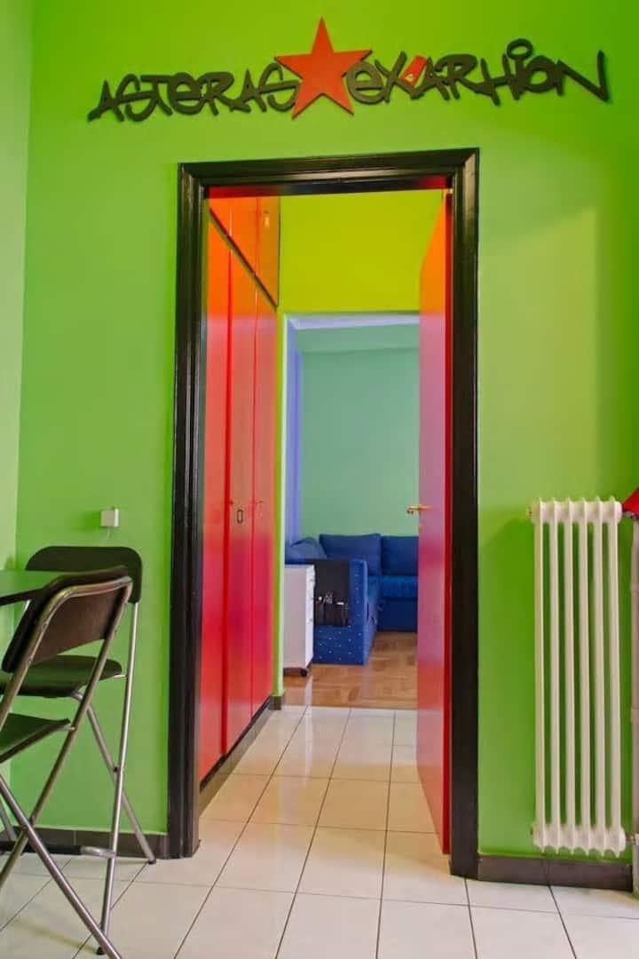 Hidden Studio in Athens Centre (Exarchia)