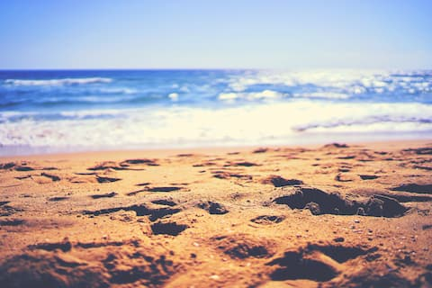 T2, 50 m de la plage