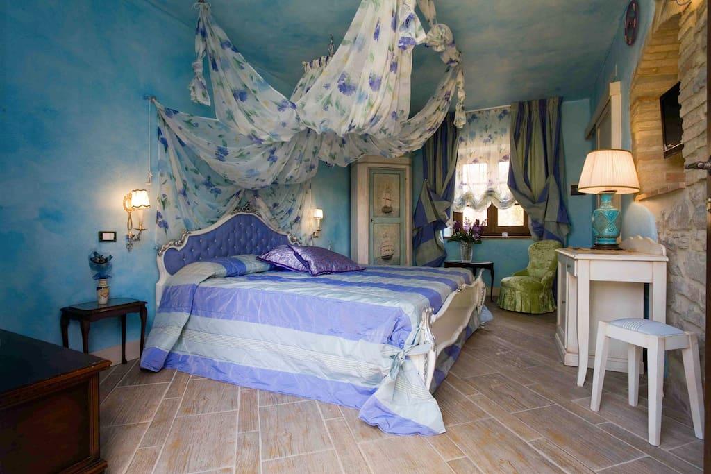 Vista della Romantic Room.