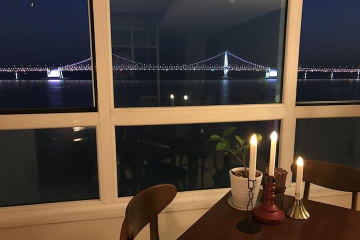 Ocean View!! @광안리 Coral House - Suyeong-gu - Appartement