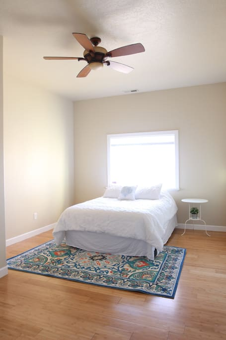 Guest Bedroom w/ Queen Mattress