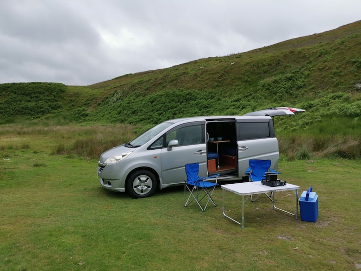 Easy to drive compact campervan from Edinburgh