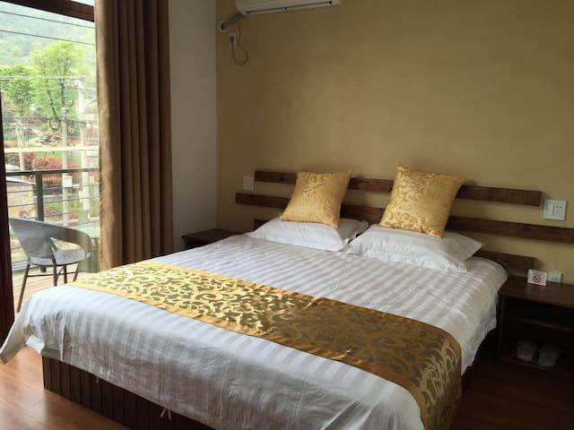 竹缘山庄阳台房 - Huzhou - Appartement